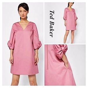 Ted Baker Solyane Dusty Pink Dress NWOT